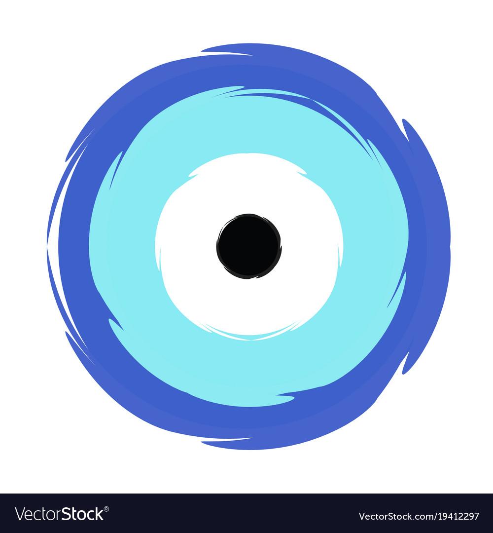 Greek blue evil eye symbol of protection vector image greek blue evil eye symbol of protection vector image buycottarizona