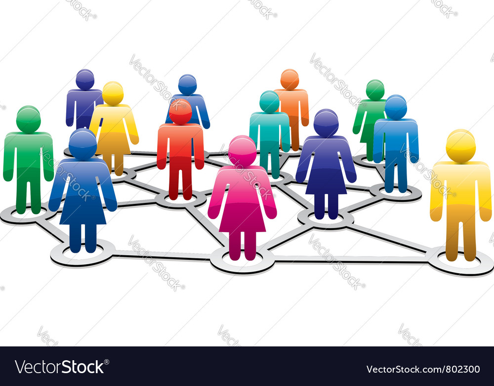 Colorful symbols of men and women vector image
