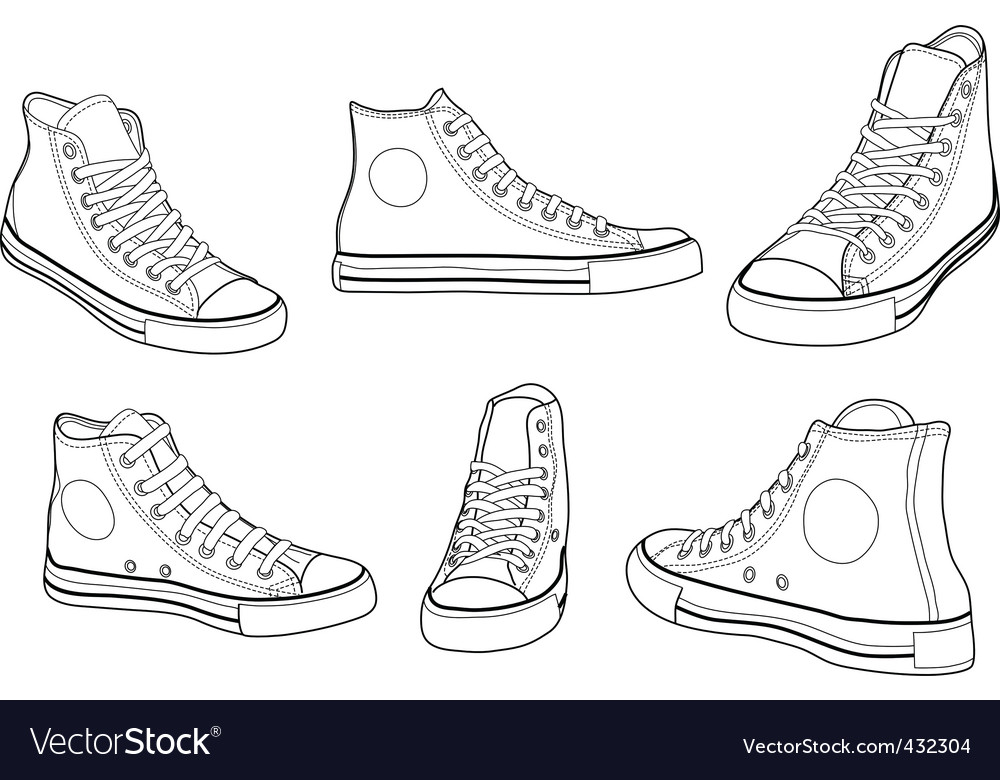 Keds vector image