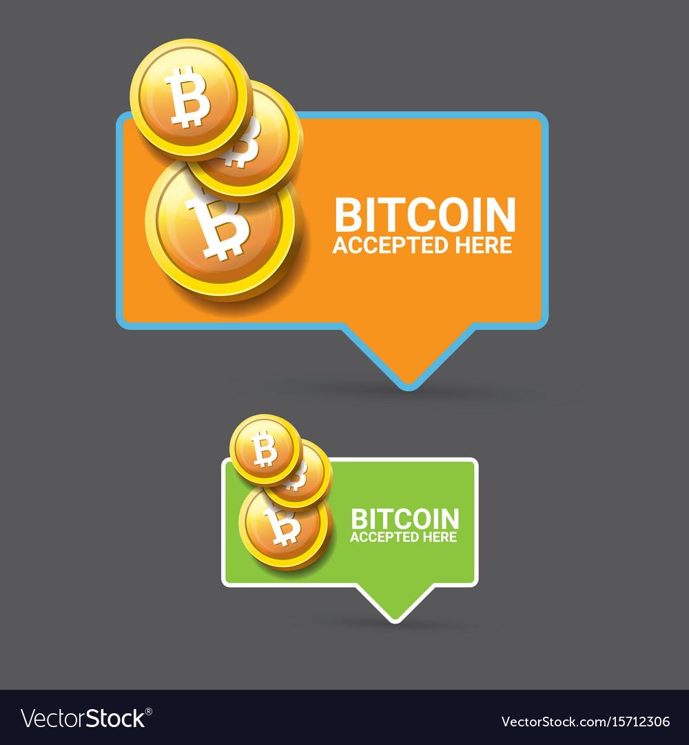 Bitcoin symbol bitcoin icon Royalty Free Vector Image ...