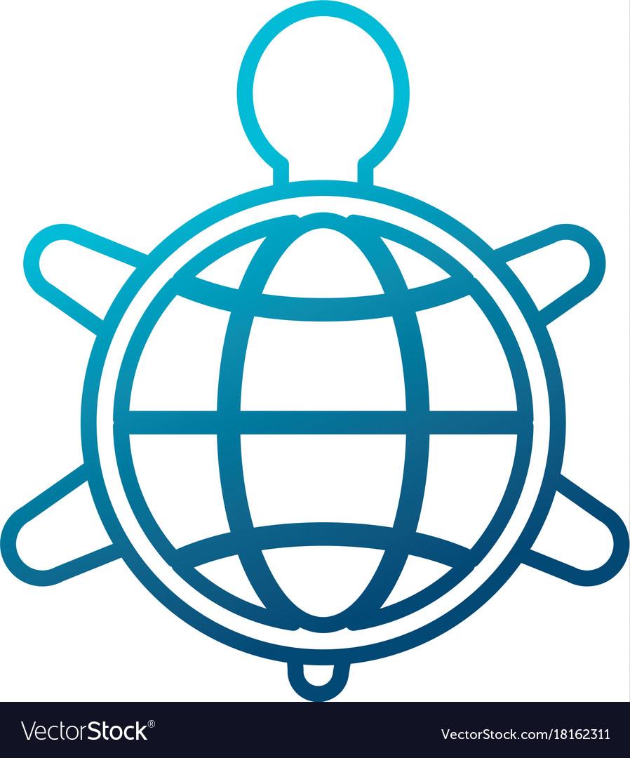 Turtle animal symbol royalty free vector image turtle animal symbol vector image biocorpaavc