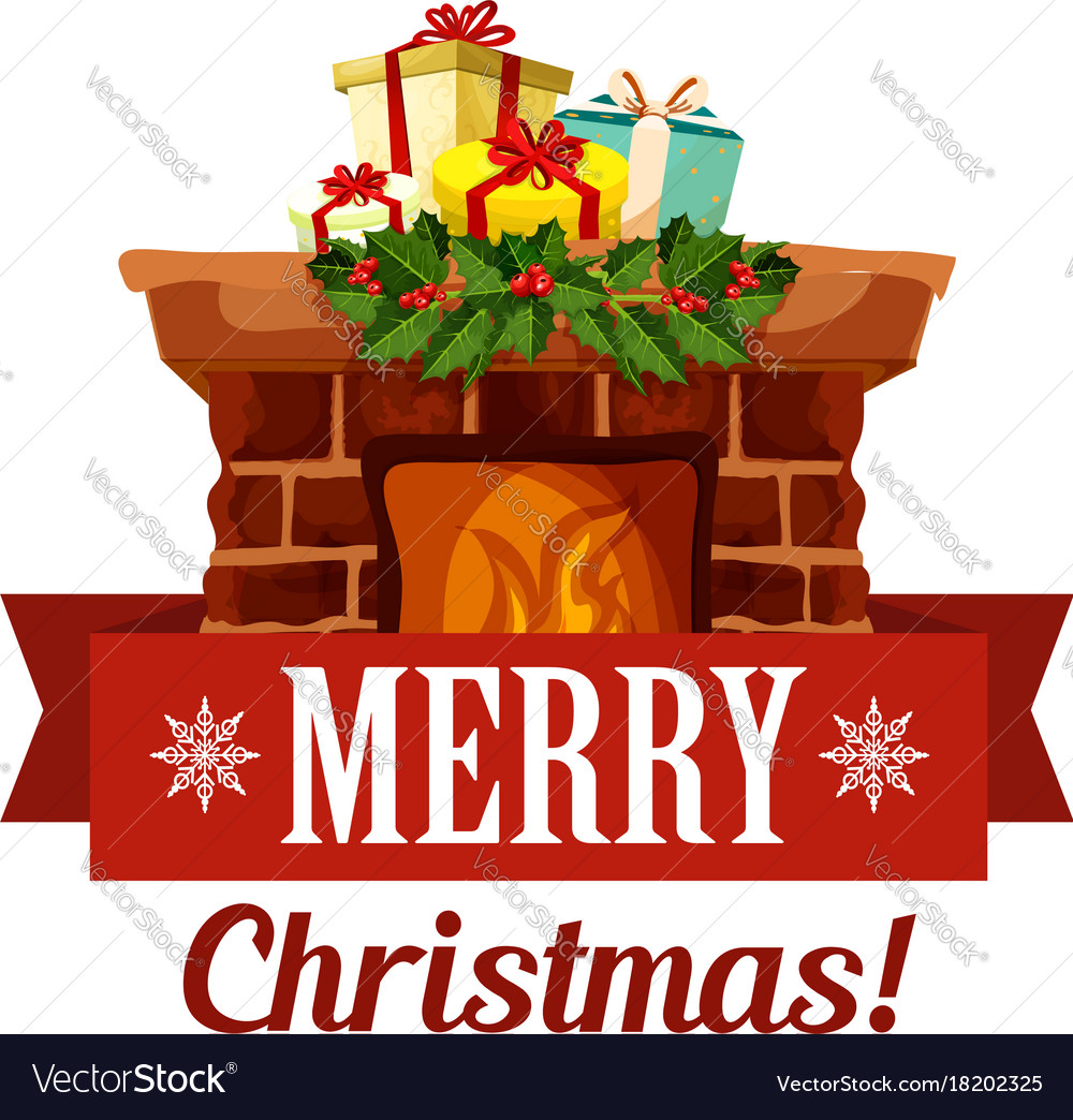 Merry christmas holiday greeting card icon vector image merry christmas holiday greeting card icon vector image kristyandbryce Gallery