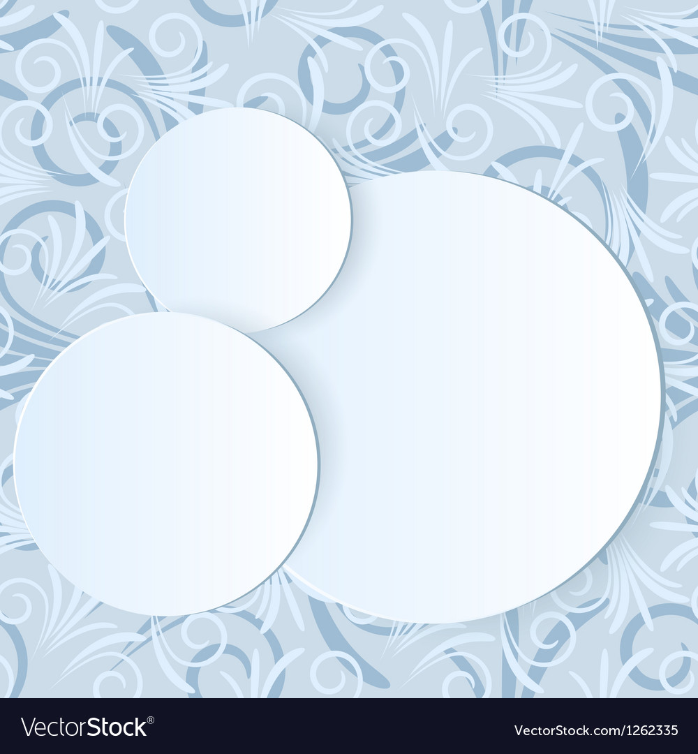 Abstract paper layers vector image