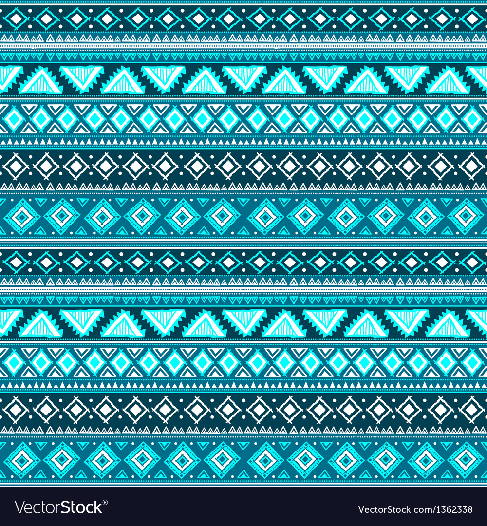 Abstract tribal pattern Royalty Free Vector Image