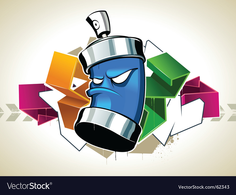 Graffiti vector image