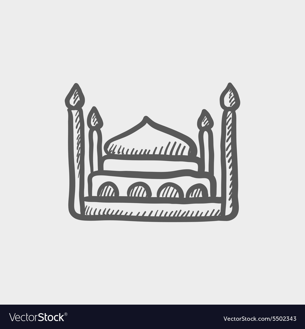 Person in bed and Hotel solid icon. Royalty-Free Vector
