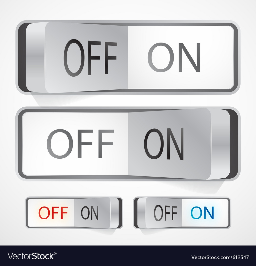 Toggle switch royalty free vector image vectorstock toggle switch vector image biocorpaavc Images