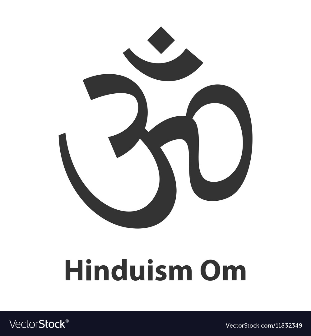 Icon of om or aum symbol hinduism religion sign vector image icon of om or aum symbol hinduism religion sign vector image buycottarizona