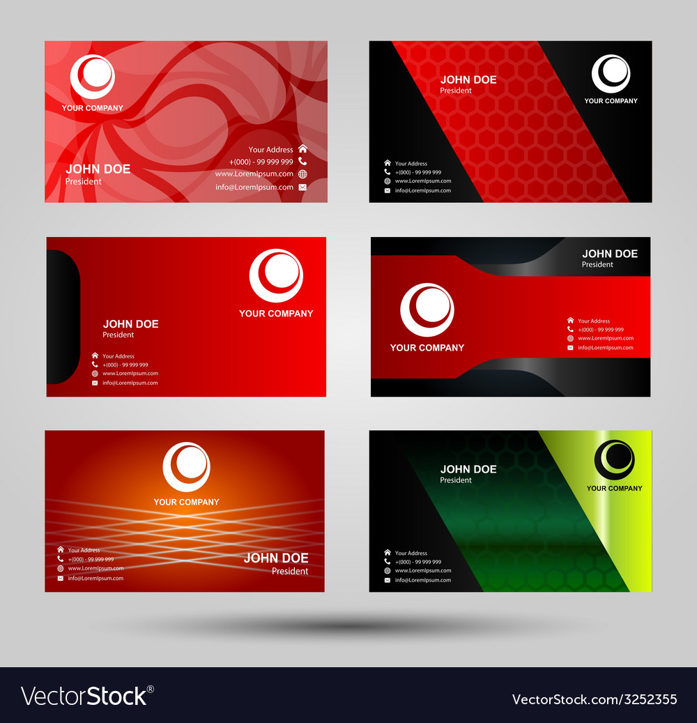 Elegant business card templates royalty free vector image elegant business card templates vector image fbccfo Image collections
