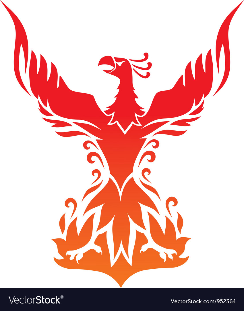 Phoenix2 vector image