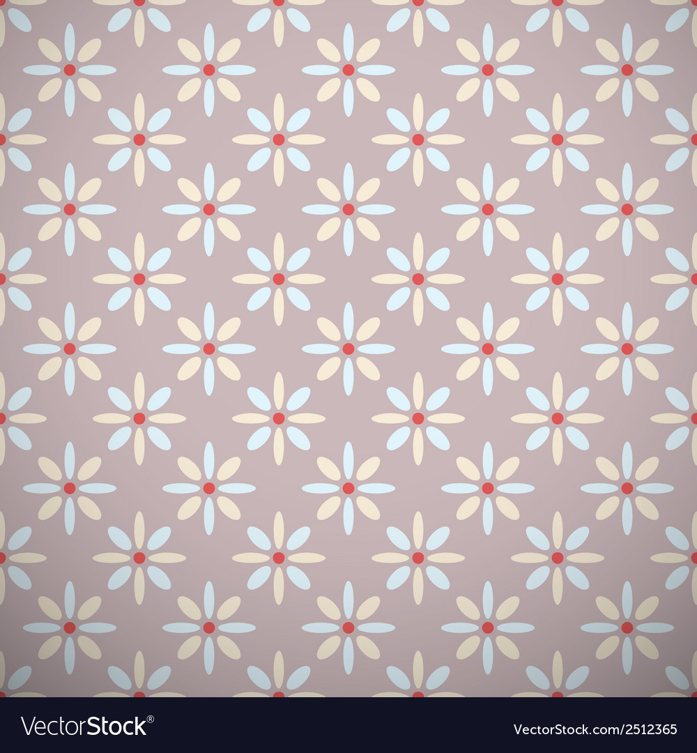 Yoga pattern tiling Light brown blue and red Vector Image