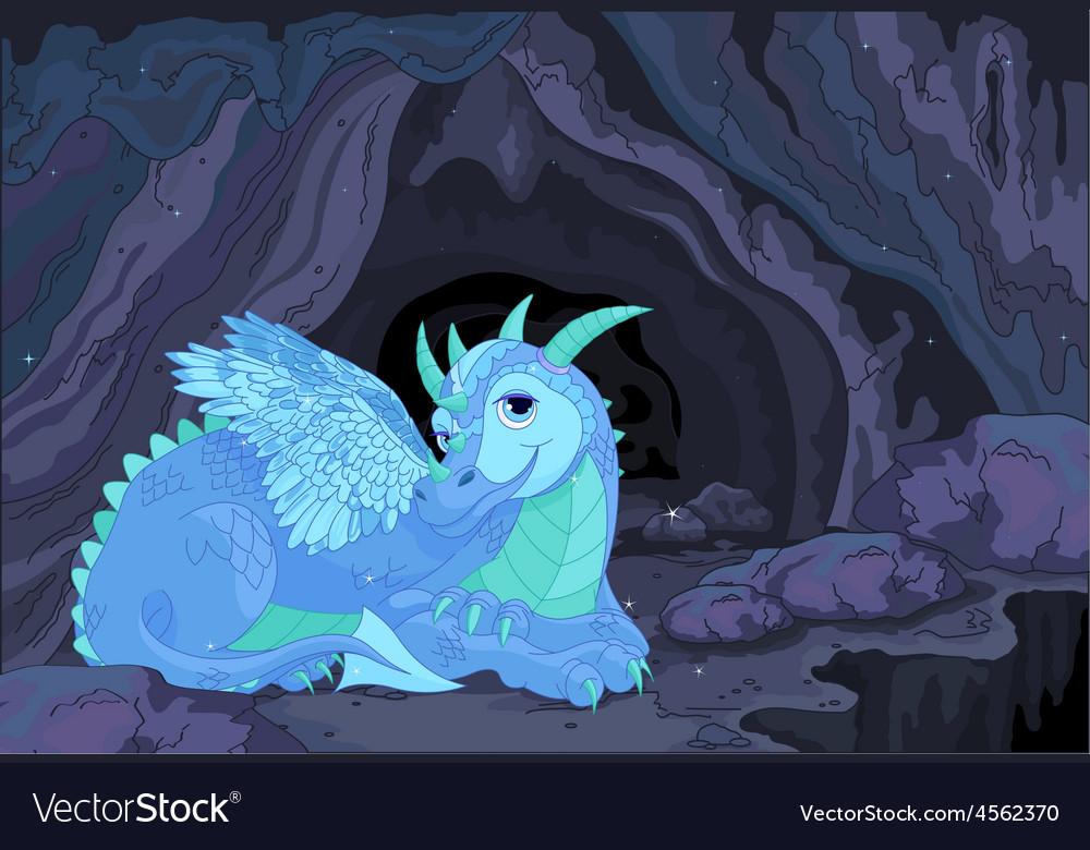 Lady Dragon vector image