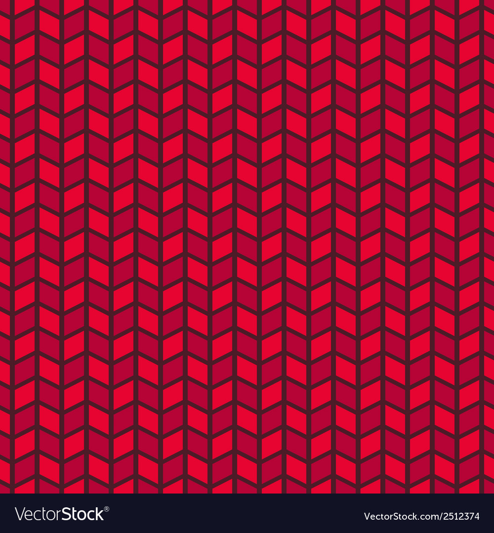 Passionate seamless pattern tiling Hot red color Vector Image