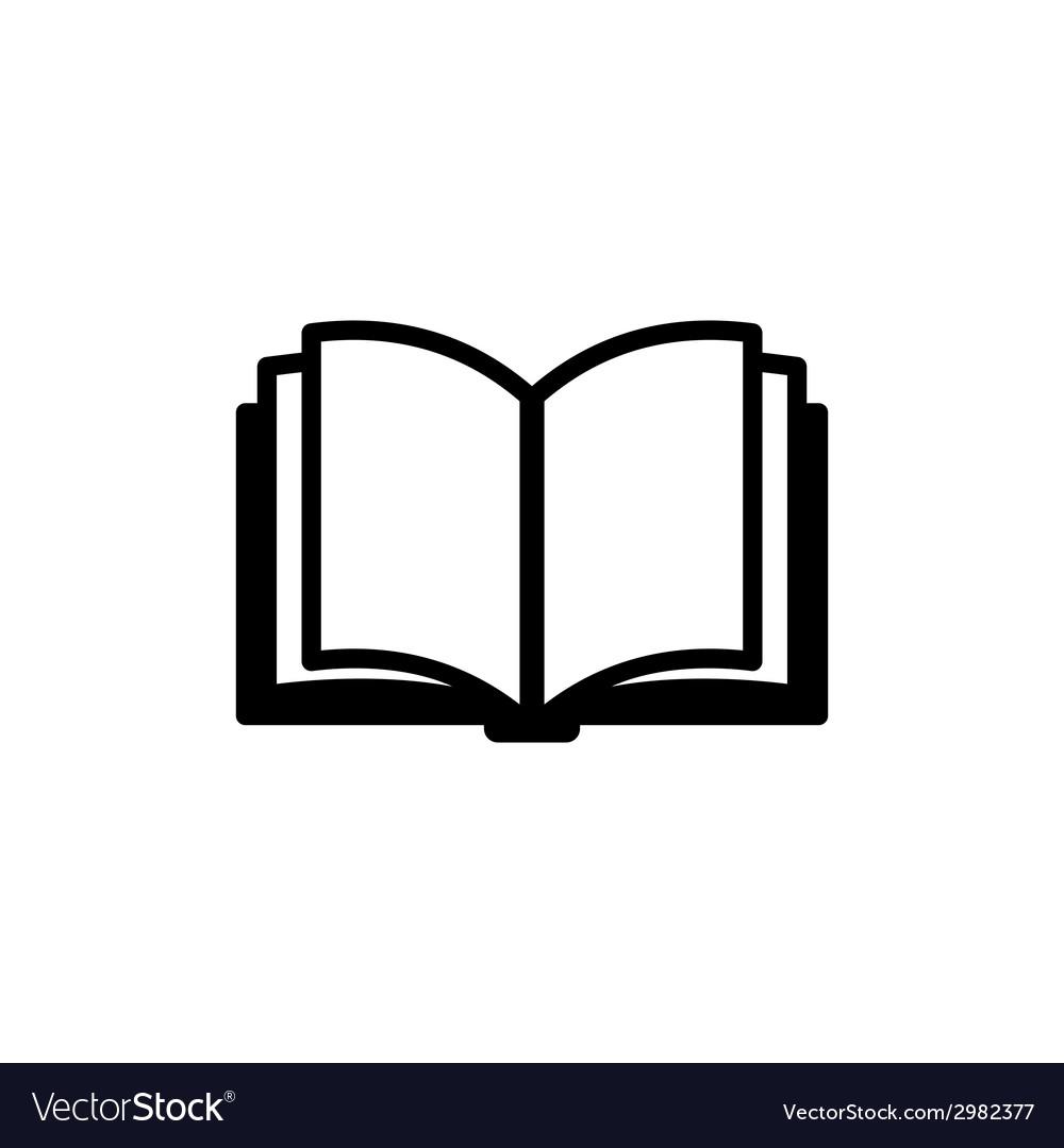 Book Icon Logo vector image