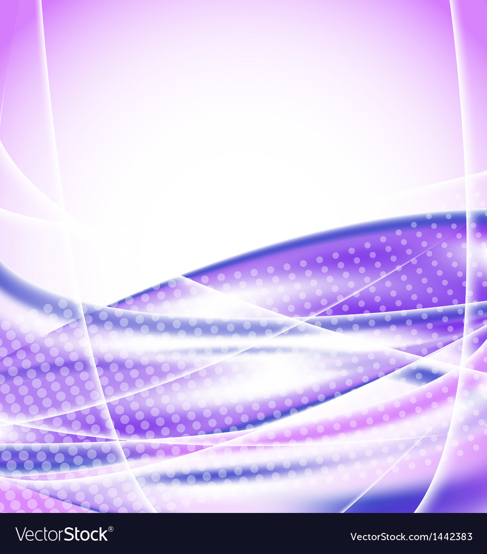 Abstract purple background design template vector image