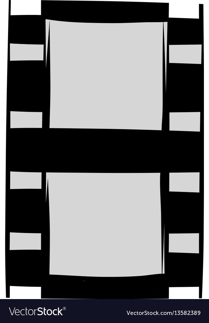 Film strip icon cartoon vector image