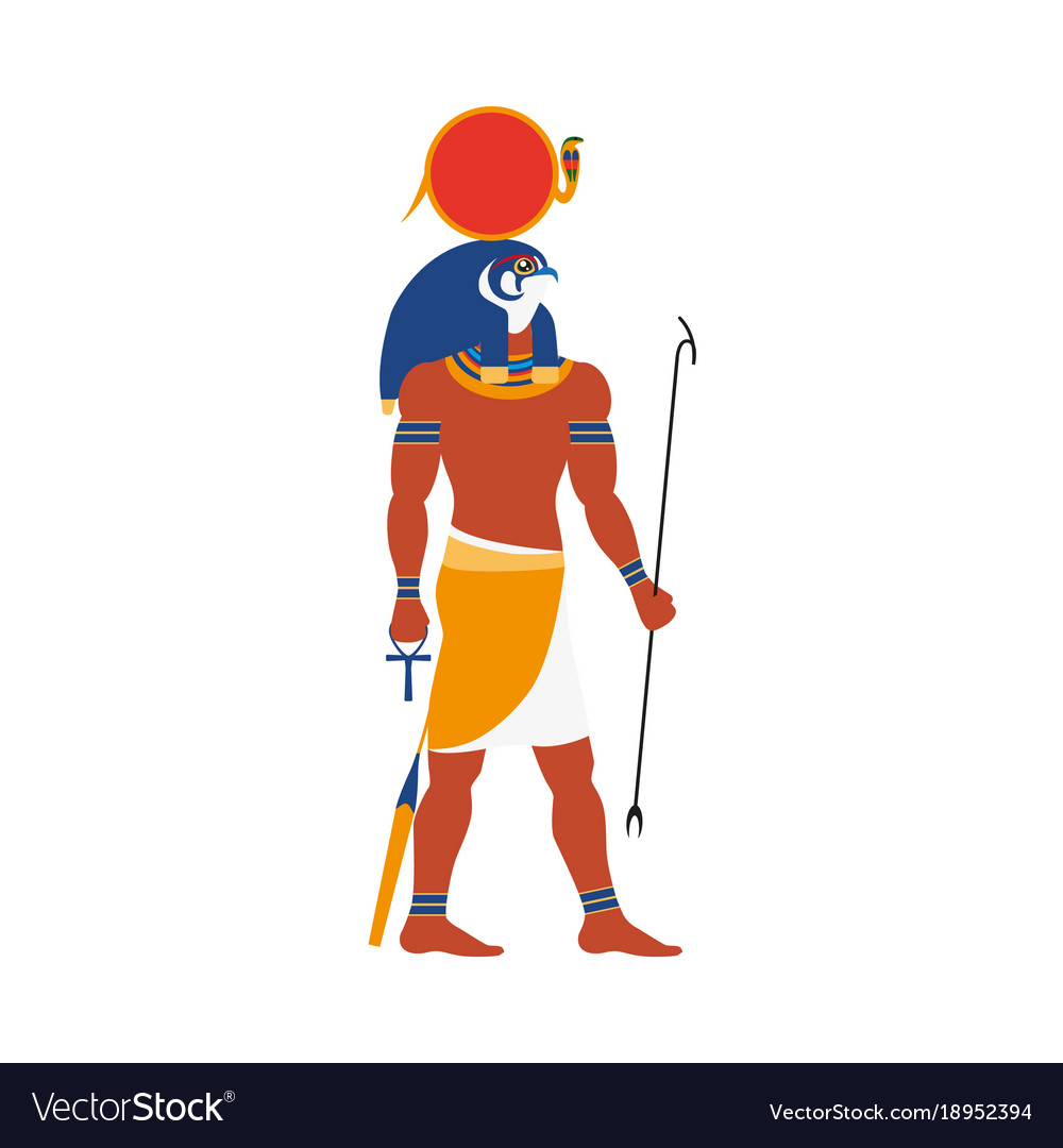Ra god of noon sun in ancient egypt religion vector image ra god of noon sun in ancient egypt religion vector image buycottarizona