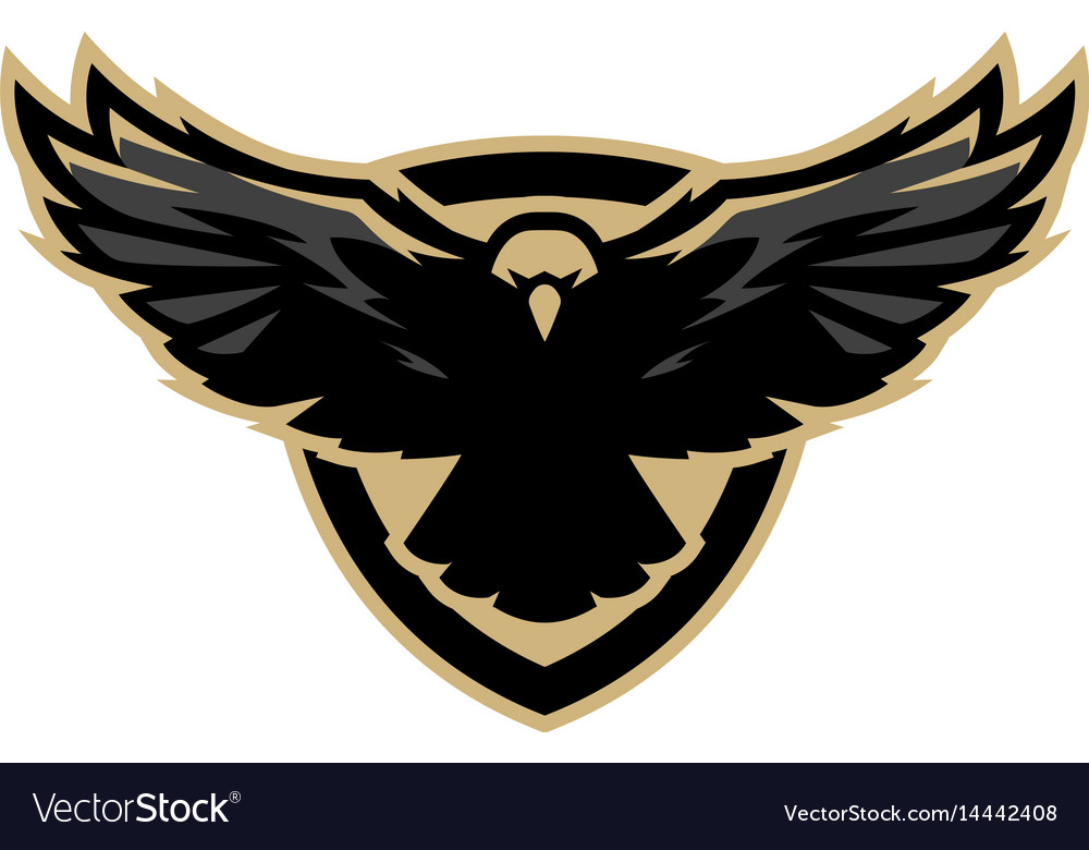 Eagle in flight logo symbol royalty free vector image eagle in flight logo symbol vector image biocorpaavc Gallery
