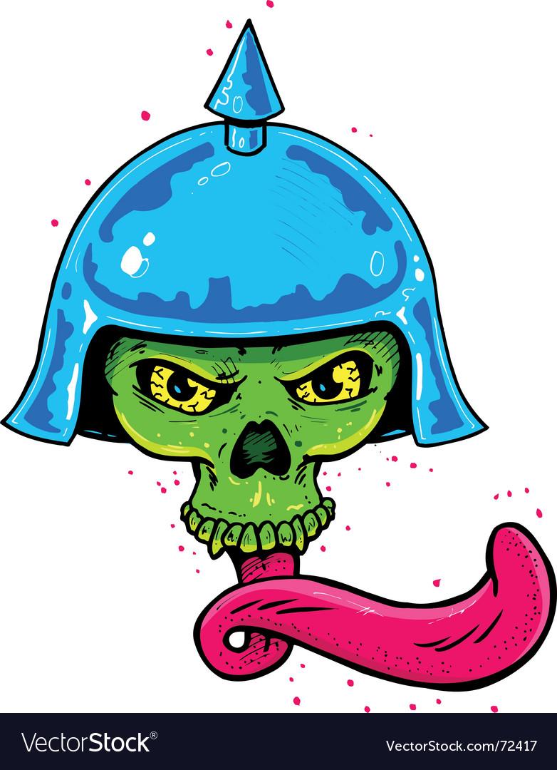 Punk tattoo vector image