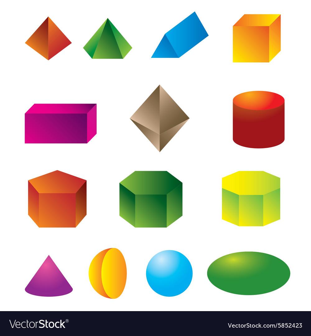 how to make shapes vetor