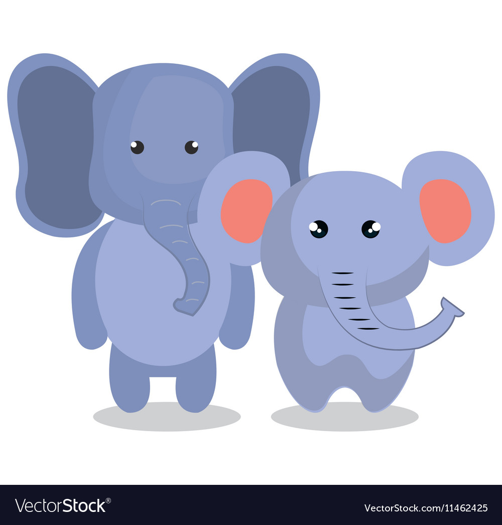 cute couple stuffed animals royalty free vector image