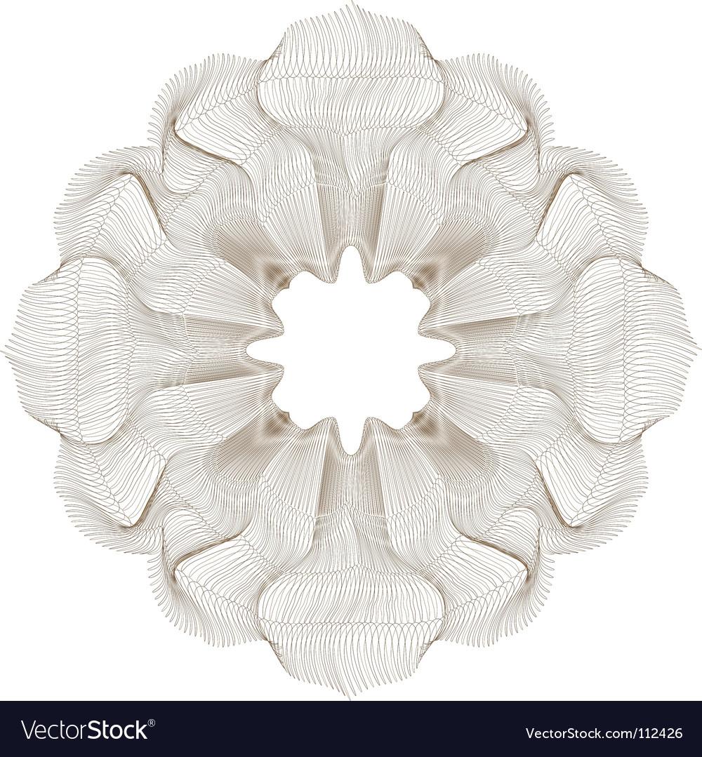 Ornamental element vector image
