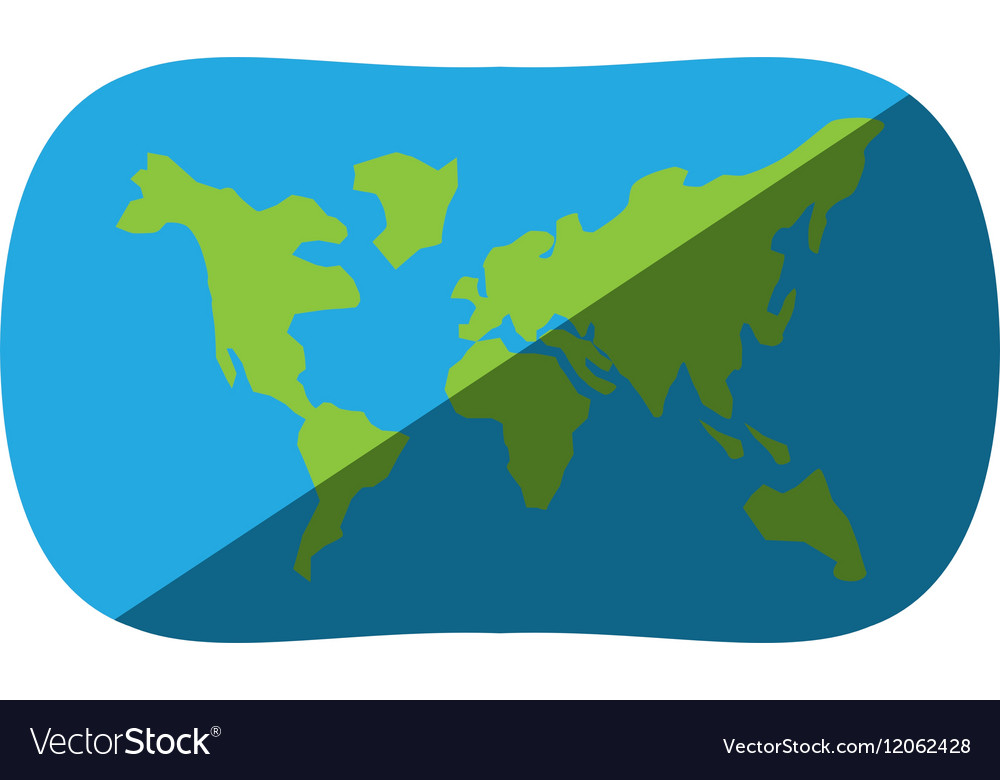 Globe earth map navigation shadow royalty free vector image globe earth map navigation shadow vector image gumiabroncs Images