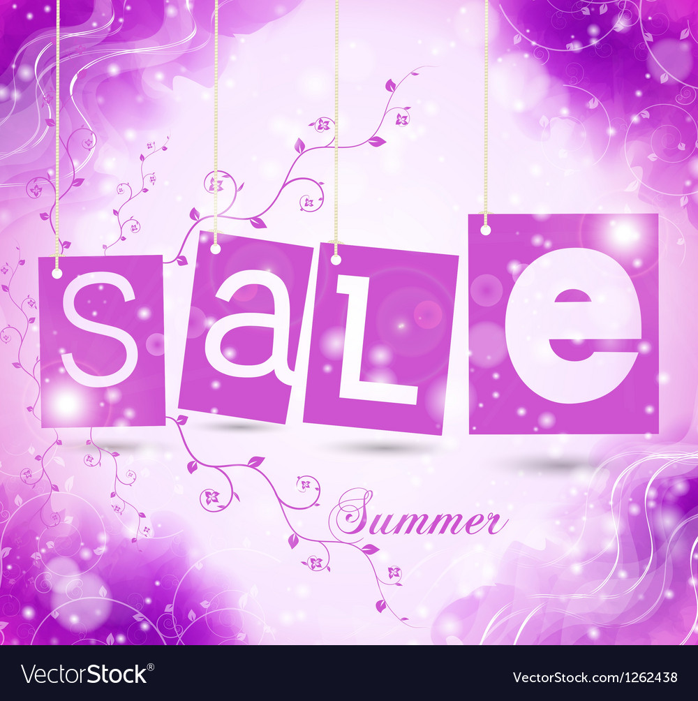Green sale tags with shadow vector image