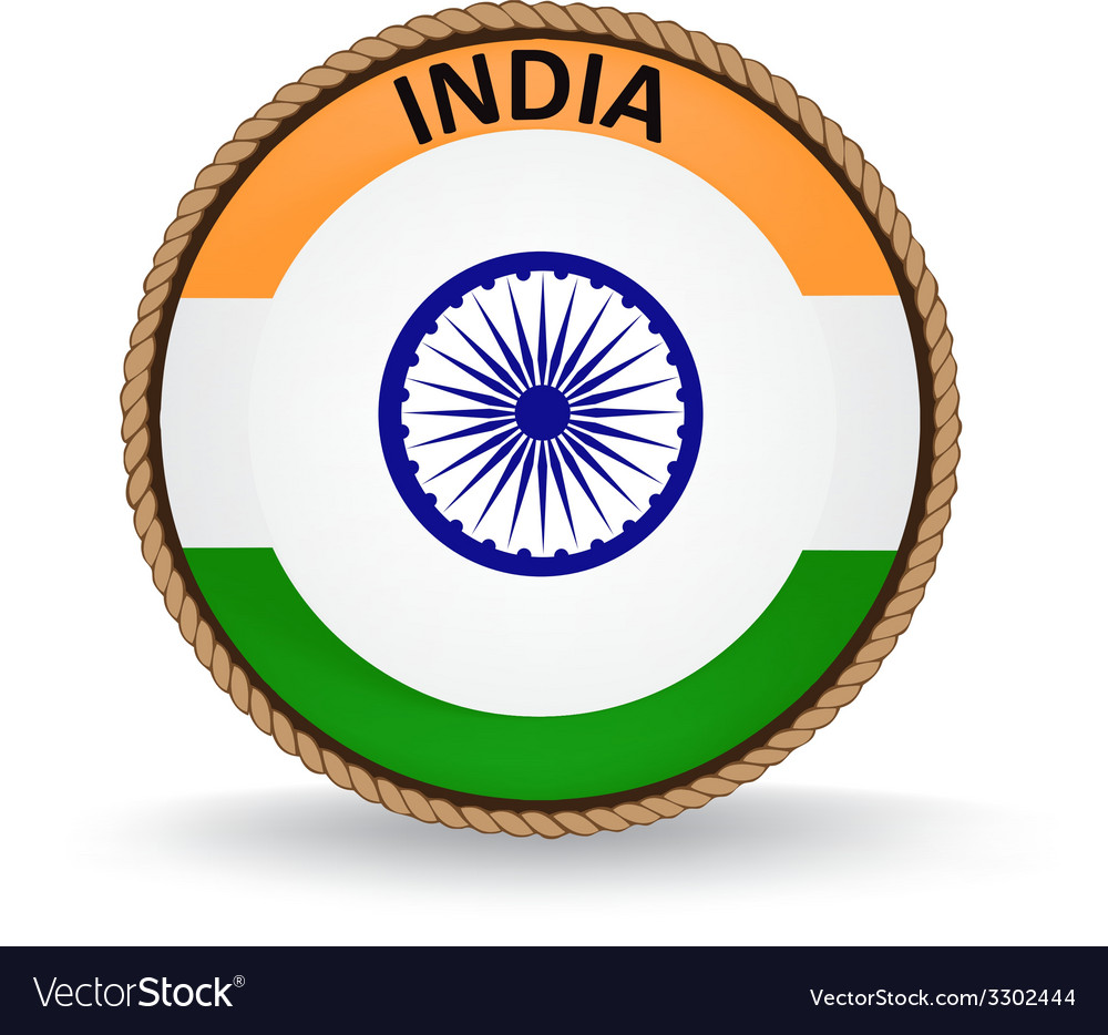 India Seal vector image