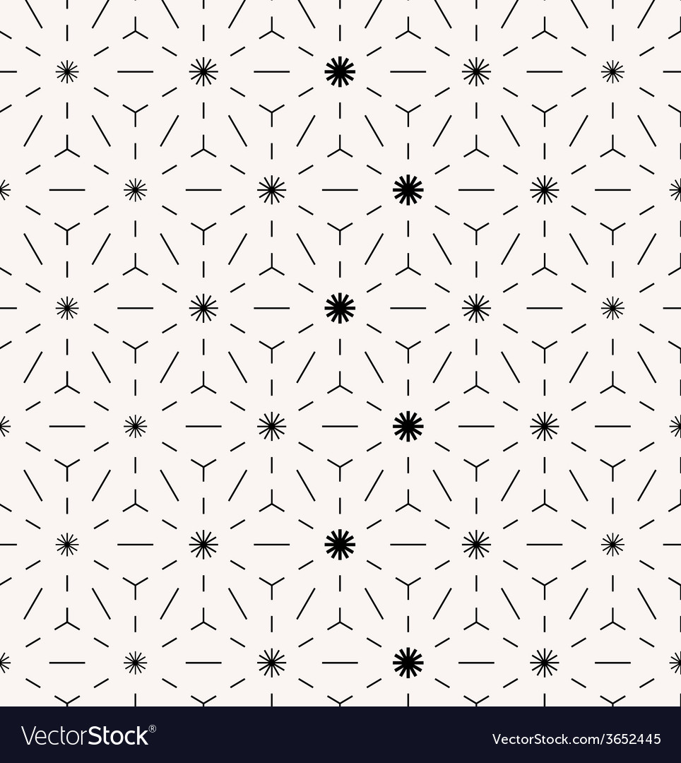 Abstract minimal seamless geometrical pattern vector image