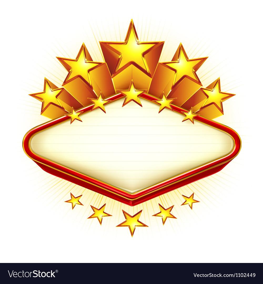Winner emblem vector image
