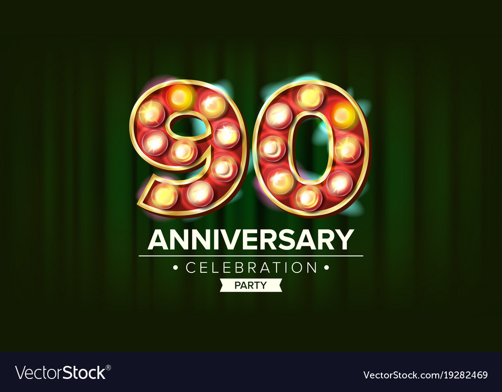Retro circus vector anniversary background banner free vector