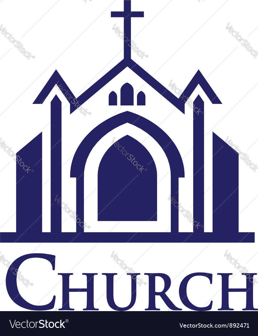 Church Logo vector image
