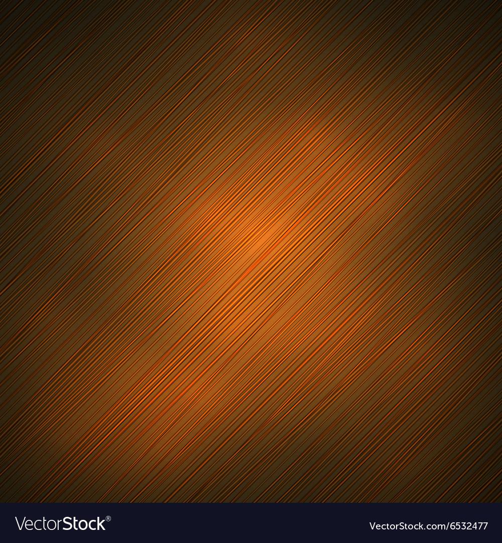 Orange banded background vector image