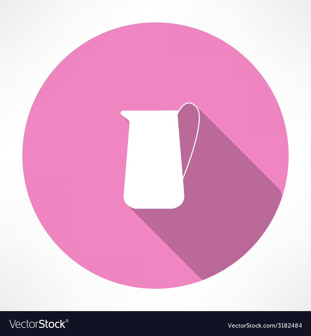 Carafe icon vector image