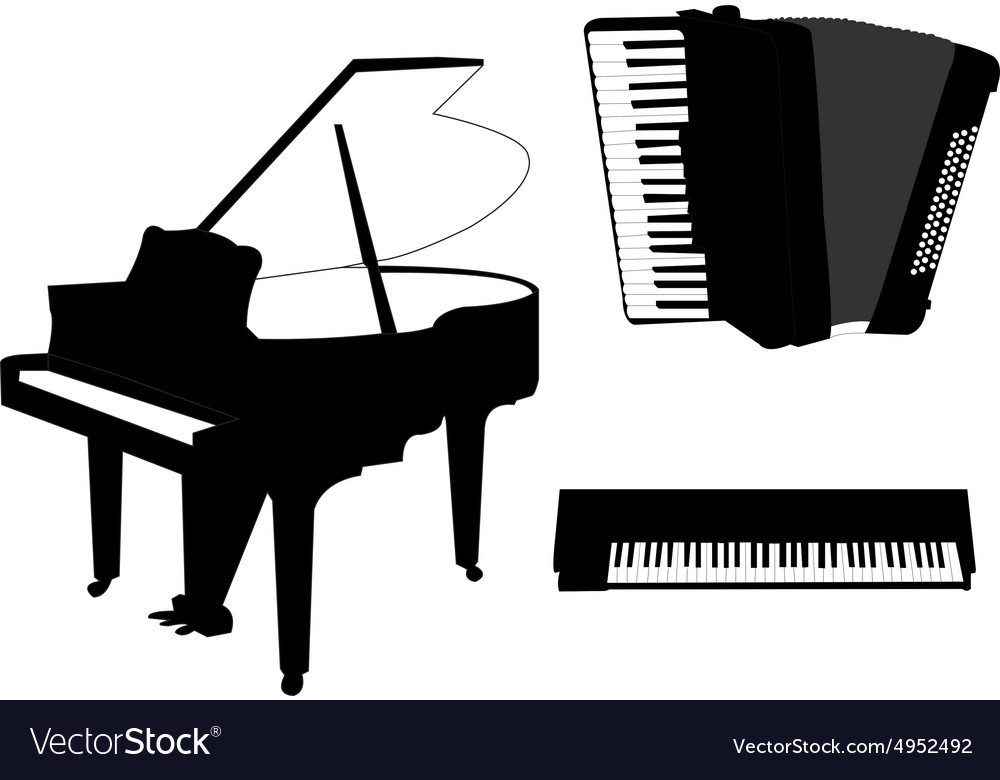 Music instruments - vector image