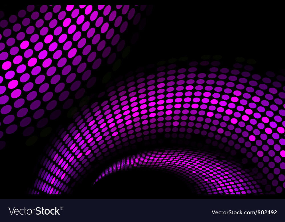Purple snake background vector image