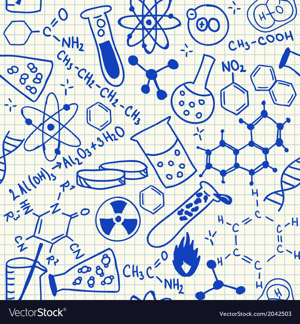 Science drawings Royalty Free Vector Image - VectorStock