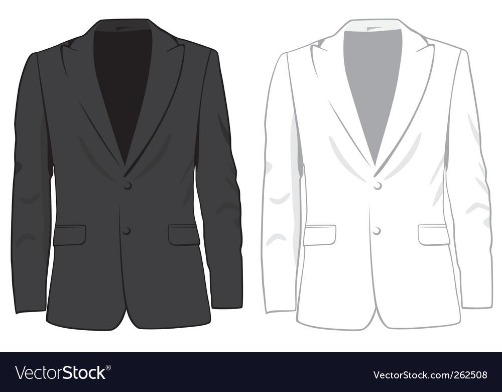 Coats vector image