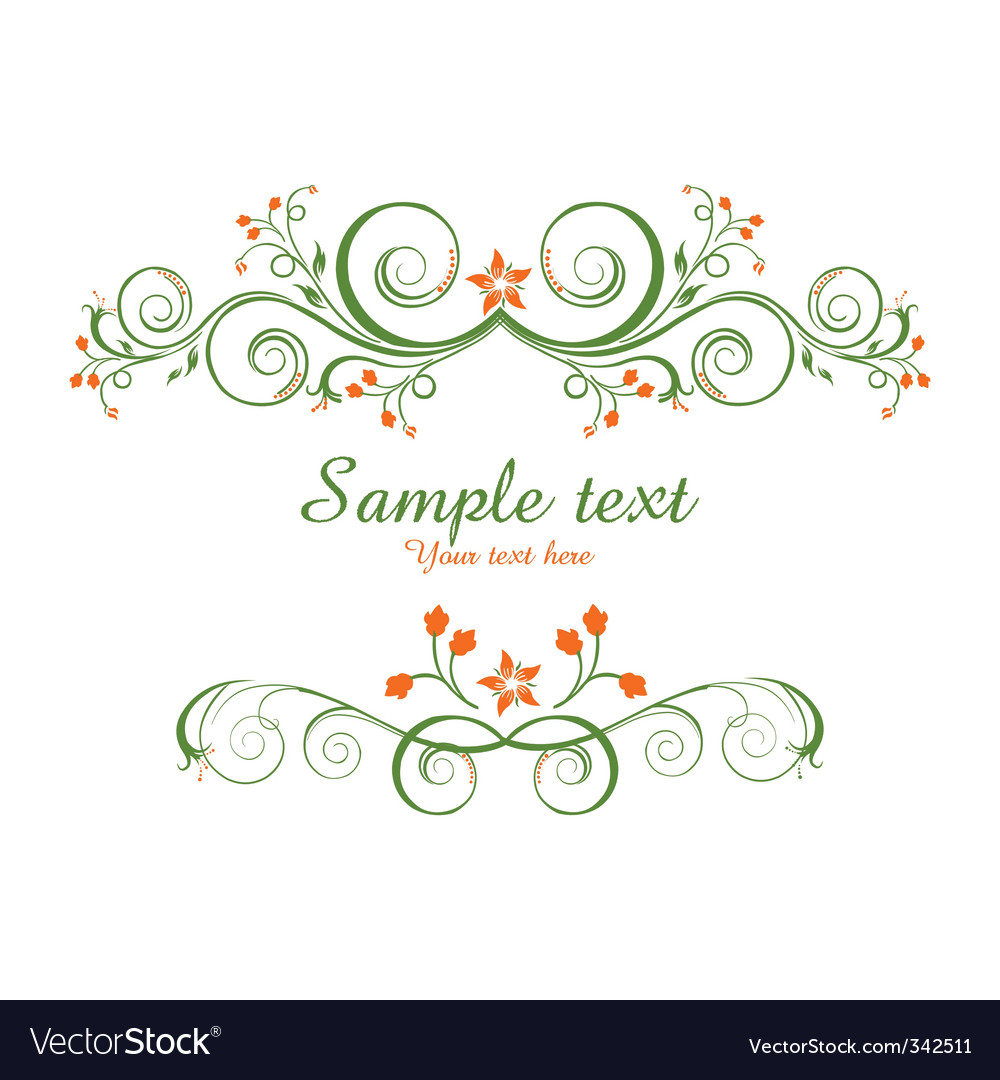 Classical vector background vector image