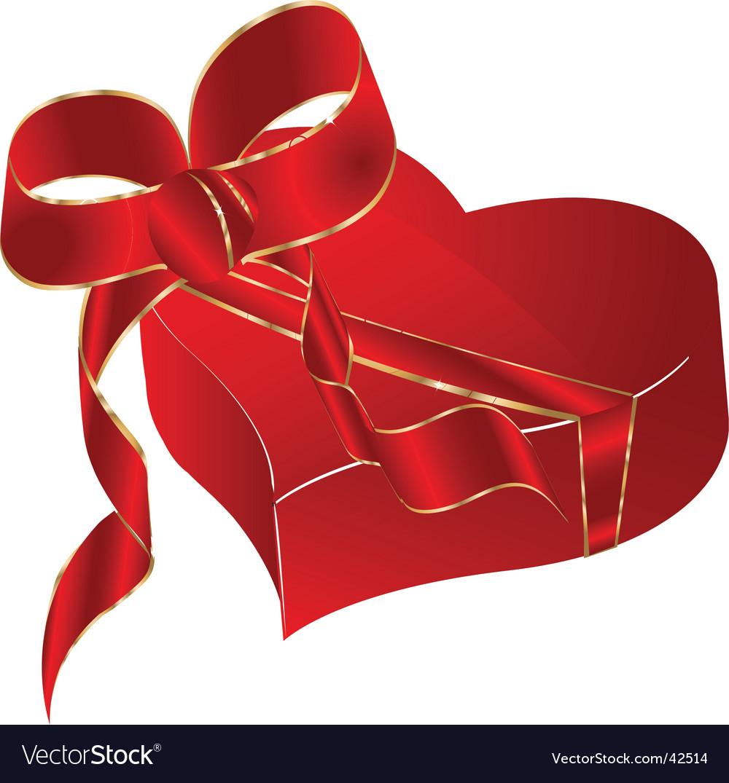 Love box vector image