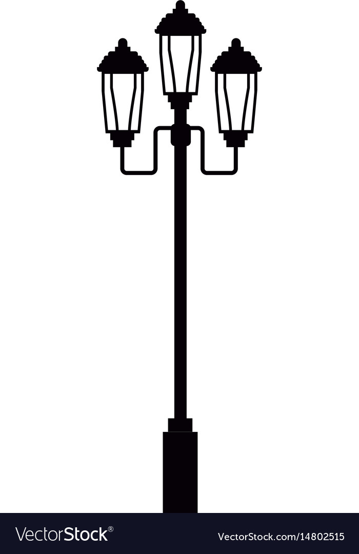 Pictogram lamp post light street royalty free vector image pictogram lamp post light street vector image mozeypictures Images