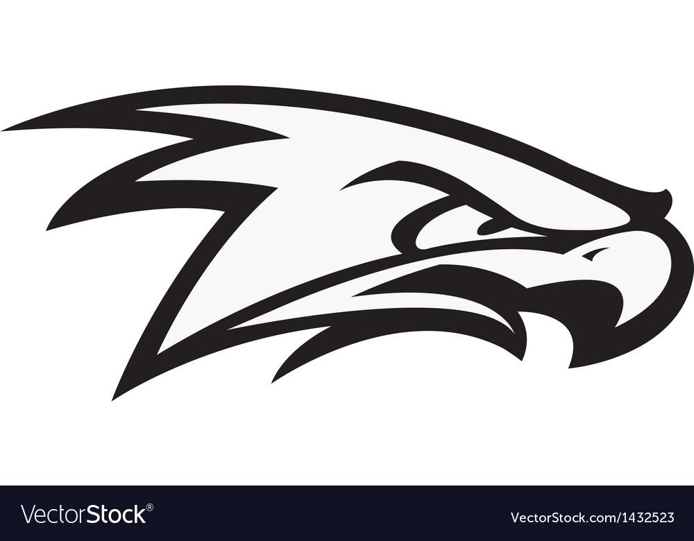 Fighting Hawk vector image