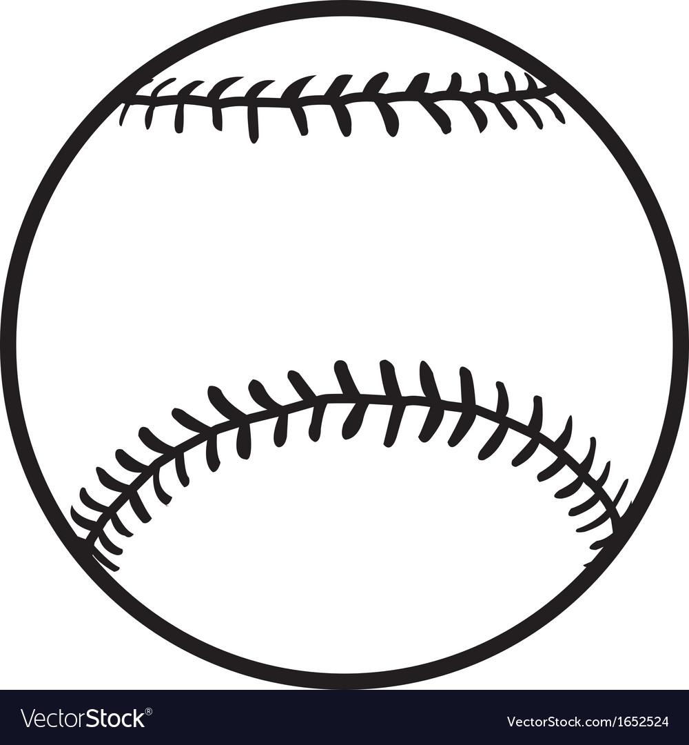 Baseball Royalty Free Vector Image - VectorStock