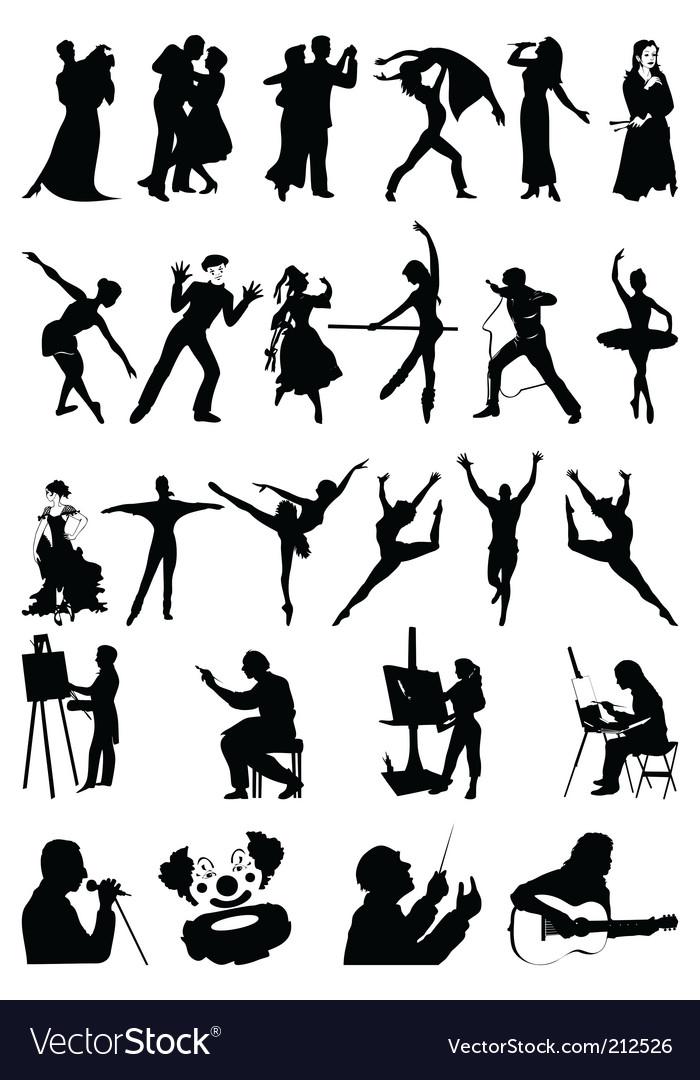 Arts vector image