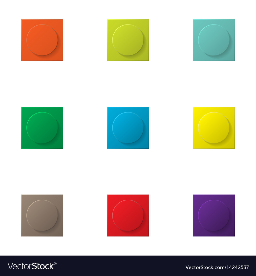 Constraction kit basic element vector image