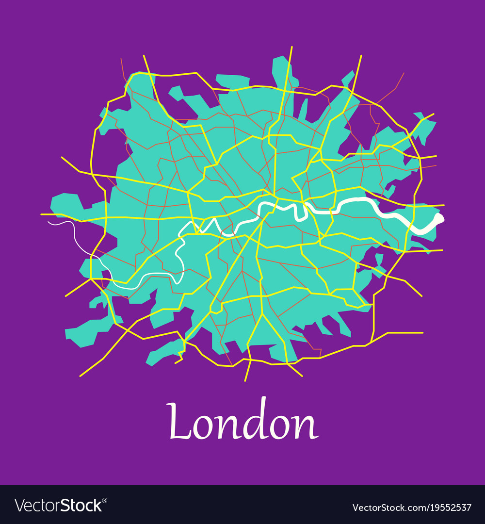London In England Map.London England Map In Retro Style Stock Images Page Everypixel