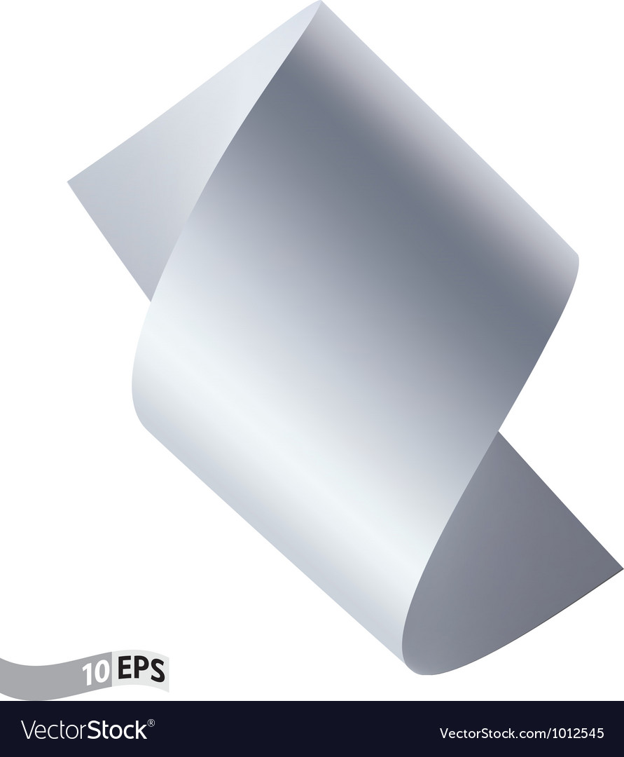 Scroll paper vector image