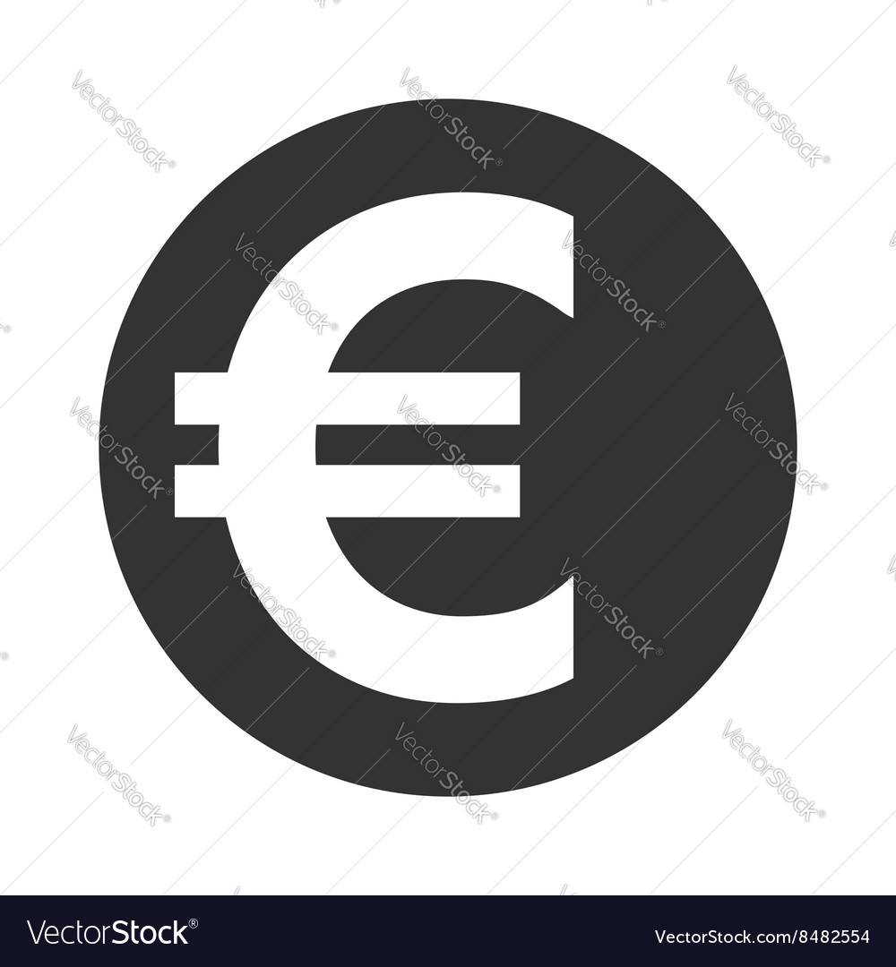 Euro sign symbol of currency finance business and vector image biocorpaavc Images