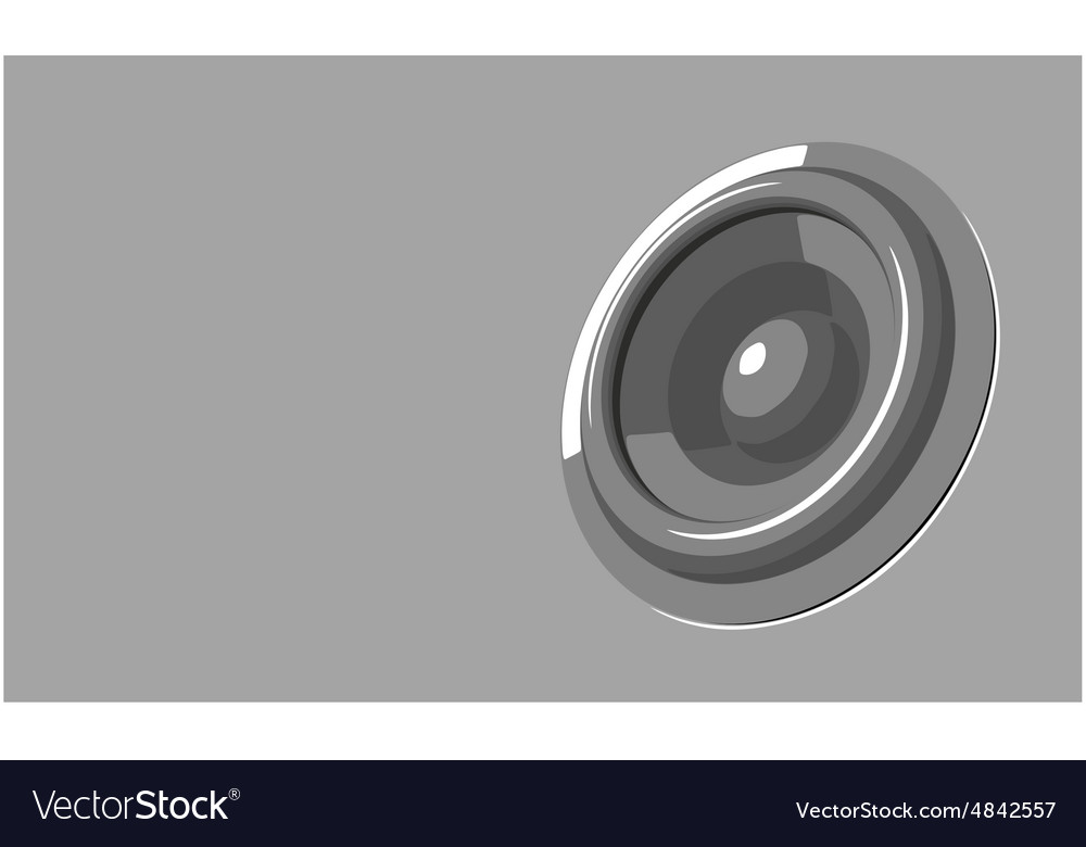 Sound-system party flyer in gray shades vector image